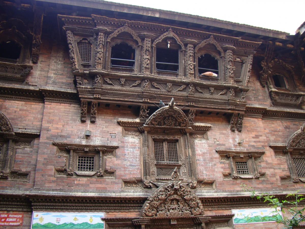 Zdjęcia: Durbar Square, Kathmandu, Tu mieszka Kumari, NEPAL