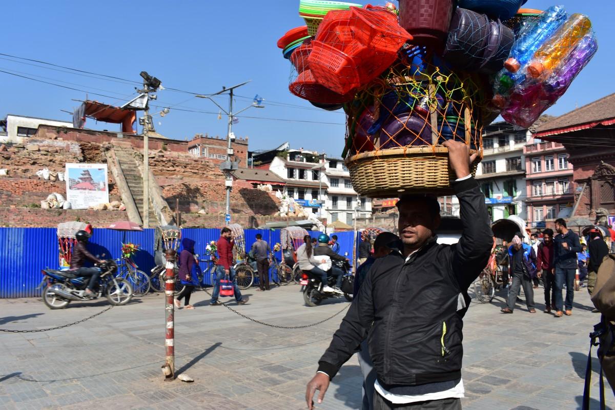 Zdjęcia: Katmandu, Katmandu, Życie na Durbar Square, NEPAL