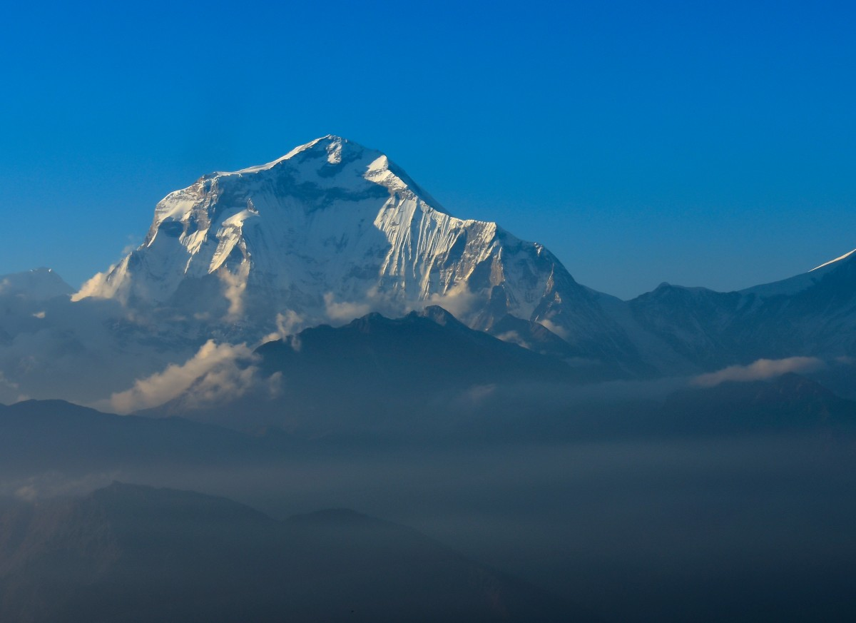 Zdjęcia: Himalaje, Nepal, Dhaulagiri, NEPAL