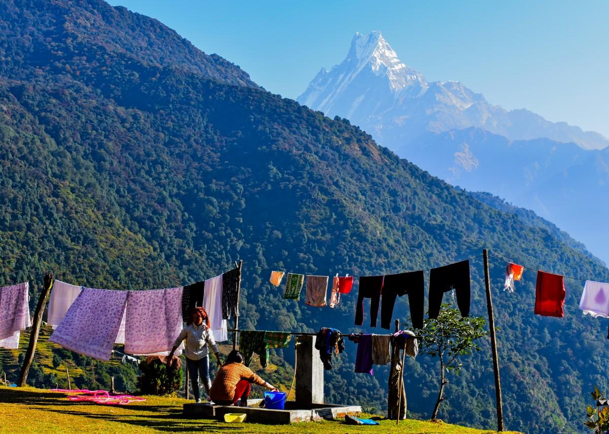 Zdjęcia: Himalaje, Himalaje, Życie  w górach, NEPAL