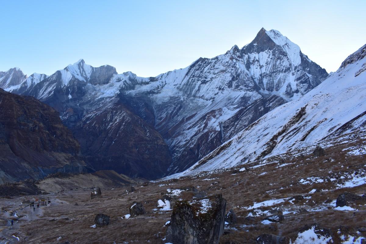 Zdjęcia: obszar Annapurny, Himalaje, Machapuchare, NEPAL