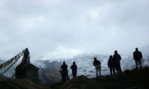 NEPAL / Annapurna / Annapurna Base Camp / czekając na górę