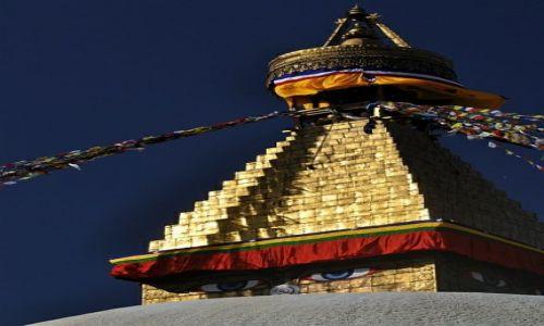 Zdjecie NEPAL / Kathmandu / stupa Bouddanath / stupa