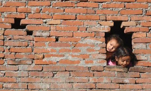 Zdjecie NEPAL / Dolina Kathmandu / Bagdaon / dzieci
