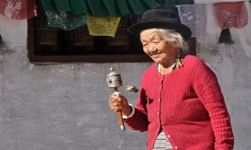 Zdjecie NEPAL / Kathmandu / Bouddanath / -