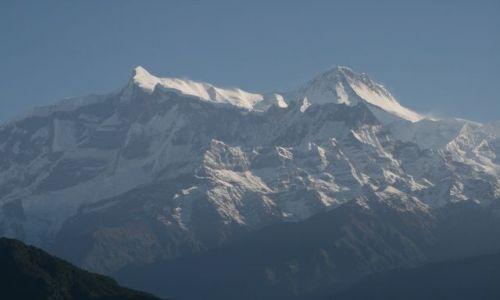 Zdjecie NEPAL / Pokhara / Sarangkot / Jej wysokosc Annapurna II 7937mnpm