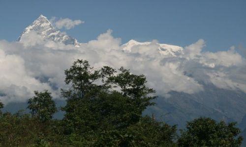 NEPAL / Pokhara / Sarangkot / Ponad chmurami