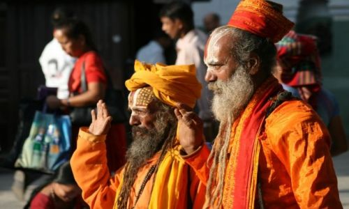 Zdjęcie NEPAL / Dolina Kathmandu / Kathmandu / Przysiega?