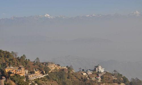 Zdjecie NEPAL / Dolina Kathmandu / Nagarkot / Widok z Nagarkot na Himalaje