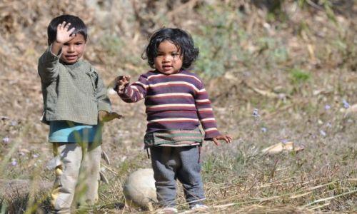 Zdjecie NEPAL / Pokhara / Sarangkot / Powodzenia