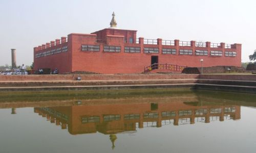 Zdjecie NEPAL / Lumbini / Park / Święte miejsce buddyzmu