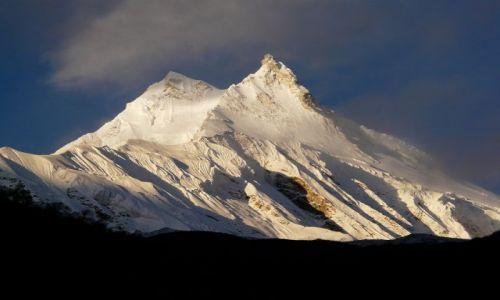 Zdjecie NEPAL / Himalaje / Manaslu / jego wysokość Manaslu