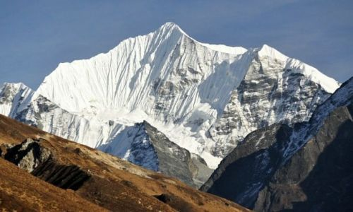Zdjecie NEPAL / Langtang / Langtang / Ganchenpo 6378m