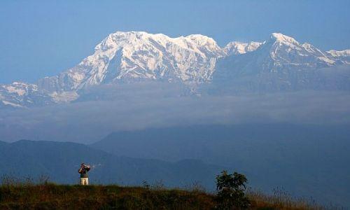 NEPAL / Pokhara / Naudanda / Annapurna Południowa