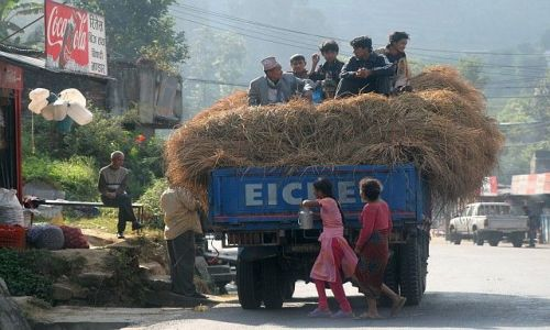 Zdjęcie NEPAL / Terai / . / postój