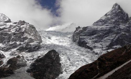 Zdjecie NEPAL / Himalaje / Dolina Langtang / Lodowiec Lirung