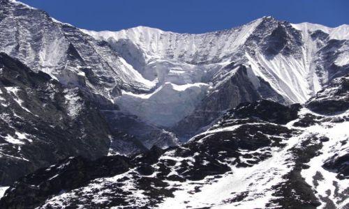 Zdjecie NEPAL / Himalaje / Dolina Langtang / Lodospad