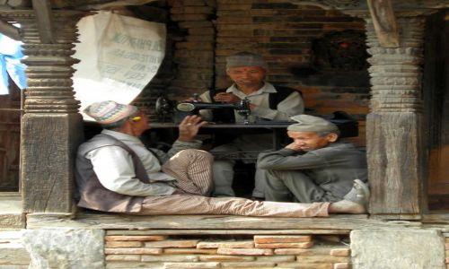 Zdjęcie NEPAL / Dolina Kathmandu / Bhaktapur / U krawca