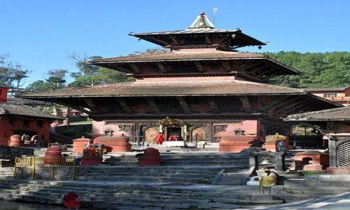 Zdjęcie NEPAL / Kathmandu / Gokharna / światynia