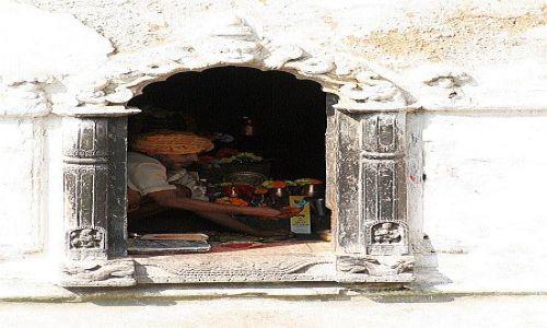 Zdjecie NEPAL / Kathmandu / Pashupatinath / sadhu