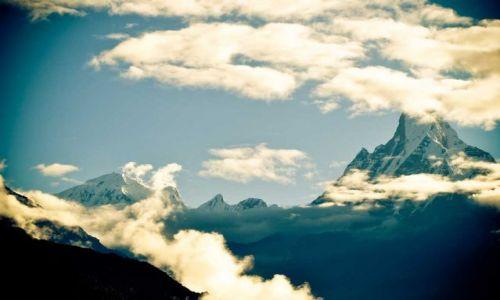 Zdjecie NEPAL / - / Himalaje / Machapuchare 6997 m n.p.m.