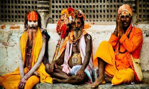 Zdjęcie NEPAL / - / Katmandu / Sadhu reaktywacja