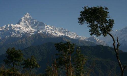 Zdjecie NEPAL / Pokhara / Sarangkot / Rybi Ogon 6993m.n.p.m