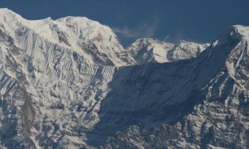 NEPAL / Pokhara / Sarangkot / Anna... z bliska