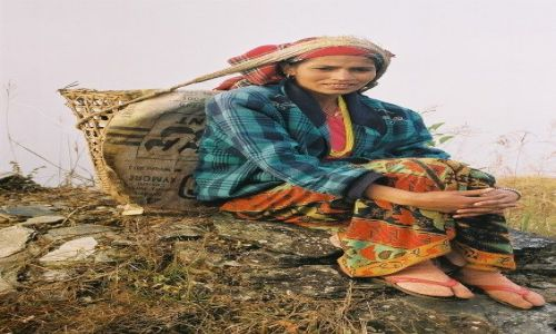 Zdjecie NEPAL / Pokhara / Sarangkot / Odpoczynek