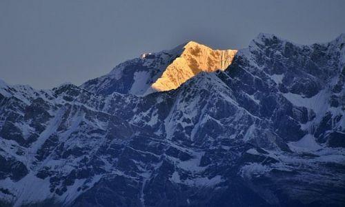 Zdjecie NEPAL / Kaski / Poon Hill / w  masywie Dhau