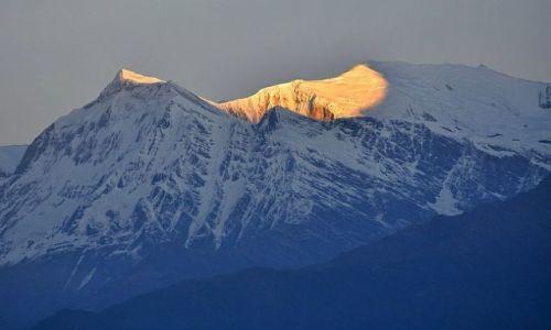 Zdjęcie NEPAL / Kaski / Poon Hill / Gurja Himal 7193 i Dhaulagiri VI 7268m