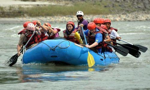 Zdjecie NEPAL / Manakamana Cable Car / rzeka Trisuli / rafting