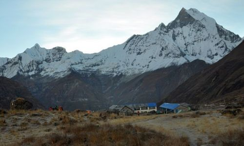 Zdjęcie NEPAL / Annapurna Base Camp / Annapurna Base Camp / Machhapuchhre 6993m