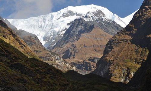 Zdjęcie NEPAL / Annapurna  / Annapurna Base Camp / Gangapurna