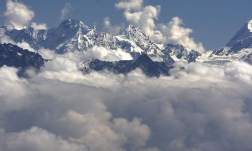 Zdjecie NEPAL / Manaslu / Manaslu / Ganesh Himal z Manaslu BC