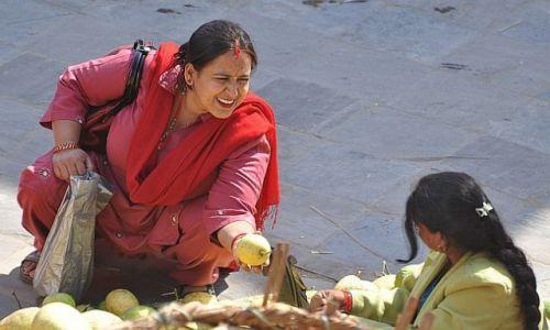 NEPAL / Kathmandu / Hanuman dhoka / a to świeże ejst ?