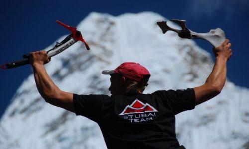 Zdjecie NEPAL / Himalaje  / Baza pod Ama Dablam  / Reklamówka dla Stubaia