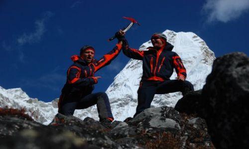 Zdjecie NEPAL / Himalaje  / Baza pod Ama Dablam  / Ama z BC