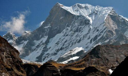 Zdjęcie NEPAL / Annapurna Base Camp / Dolina Modhi Khol / Machhapuchhre 6993m