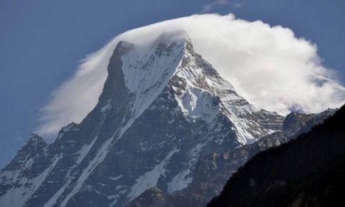 Zdjecie NEPAL / Annapurna / Bambo / Machhapuchhre