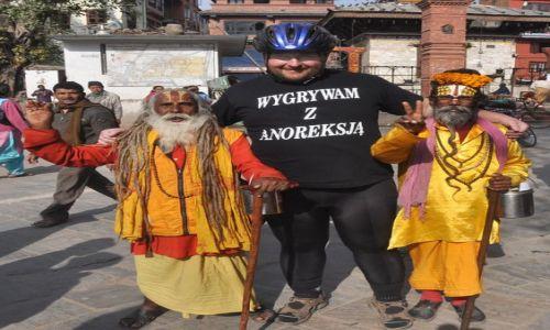 Zdjecie NEPAL / - / Durbar Squere w Kathmandu / Wygrywam z anoreksją