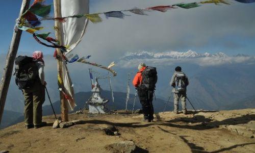 NEPAL / Langtang National Park / Laurebina / Niezapomniany widok
