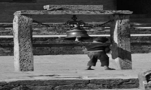 NEPAL / - / Kirtipur / Dzwonnik