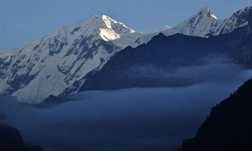 Zdjęcie NEPAL / Annapurna / na szlaku / poranek
