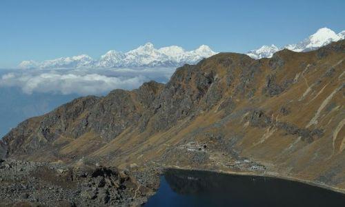 Zdjecie NEPAL / Dunche / Gosaikunda / Nepalski krajobraz
