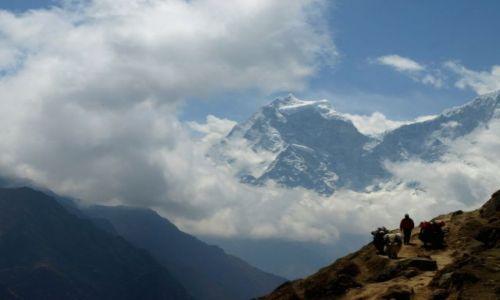 Zdjecie NEPAL / Khumbu-Gokyo / Khumbu / W drodze