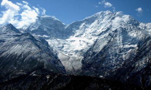 Zdjecie NEPAL / Khumbu / Portse - Tangboche / Potęga gór