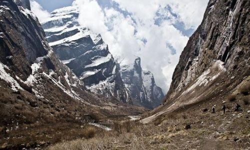 Zdjęcie NEPAL / Annapurna Conservation Area / Annapurna Conservation Area / W drodze do Sanktuarium Annapurny