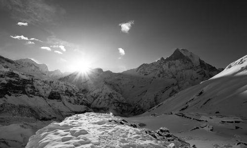 Zdjecie NEPAL / Annapurna Conservation Area / Sanktuarium Annapurny / Sanktuarium Ann