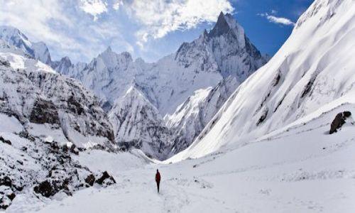 Zdjecie NEPAL / Annapurna Conservation Area / Annapurna Conservation Area / W drodze do Sanktuarium Annapurny